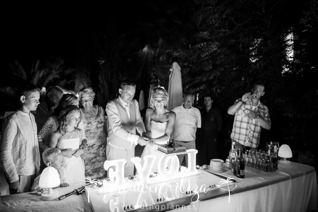 Bruidstaart Ibiza